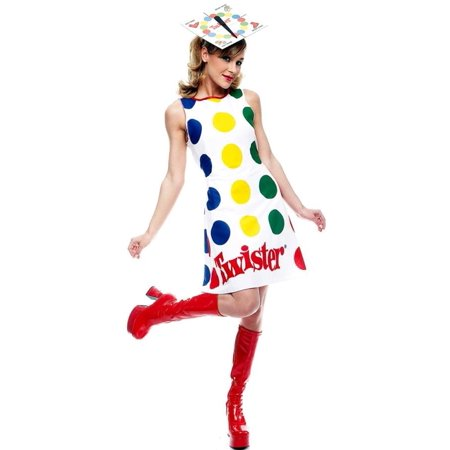 Vera Bradley Halloween (Twister Milton Bradley Game Board Dress Costume)
