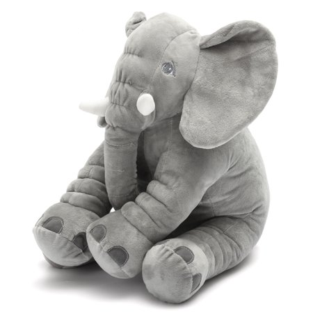 Elephant Doll Pillow Long Nose Soft Plush Stuff Toys