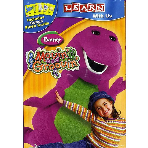 Barney: Movin' and Groovin' dvd