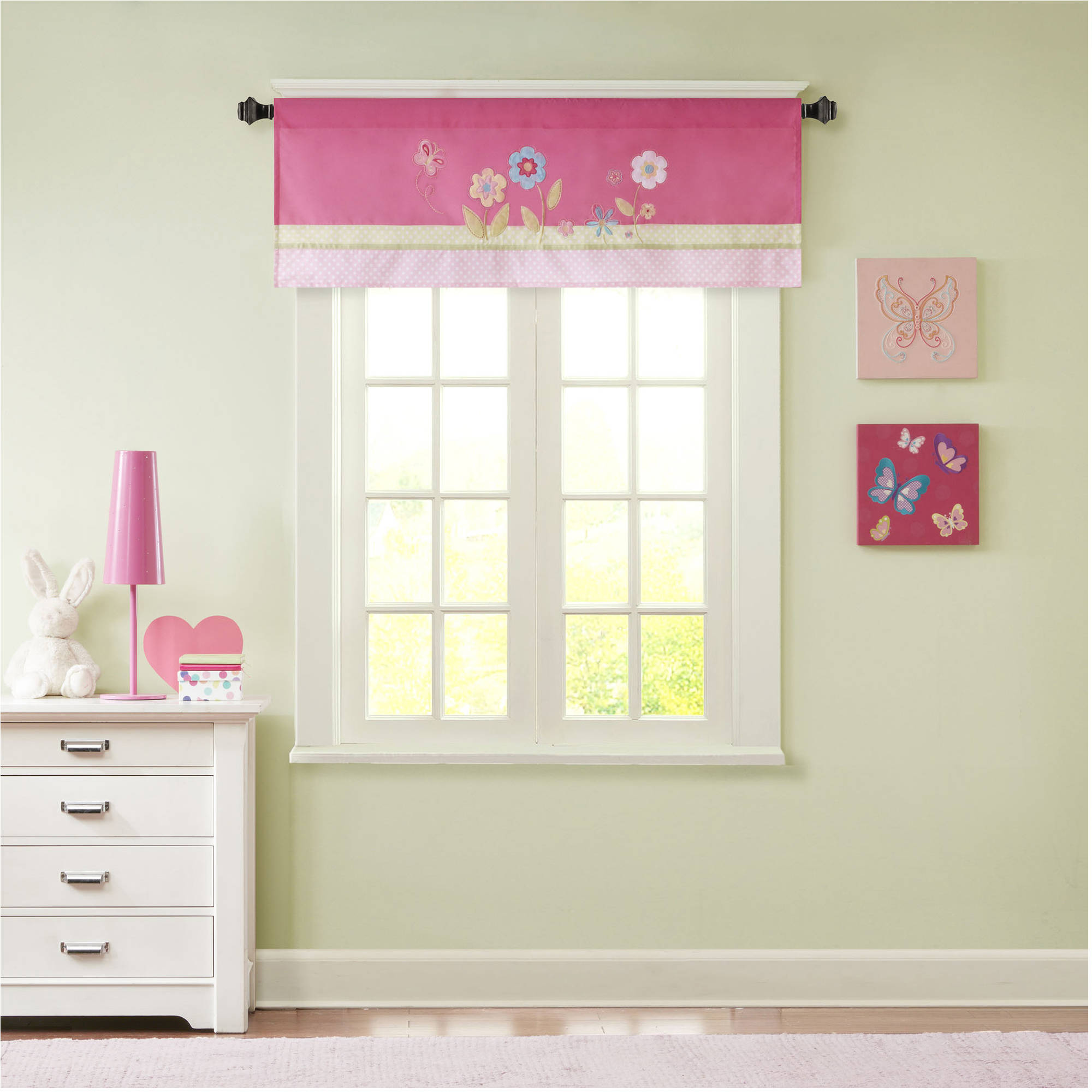 Home Essence Kids Blossoms Printed and Applique Valance
