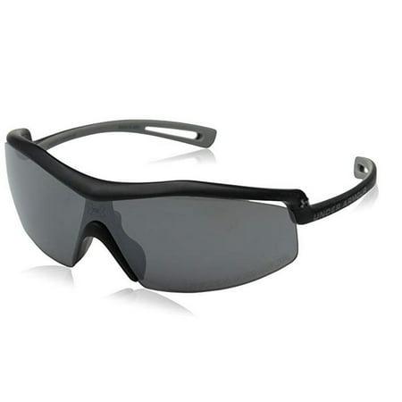 Under Armour Draft Sport Sunglasses, Satin Black Frame/Gray Lens, one (Under Armour Prescription Sports Sunglasses)