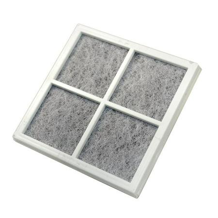HQRP Refrigerator Air Filter for LG LT120F / ADQ73214404 / ADQ73334008 /  ADQ73334003 Replacement + HQRP Coaster