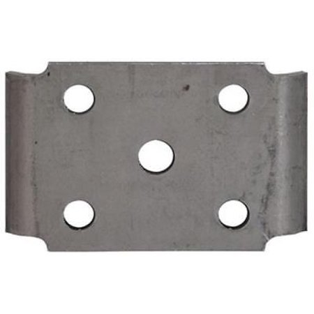 U-Bolt Plate For Trailer Axle & Spring For 2-3/8 Diameter Axle With