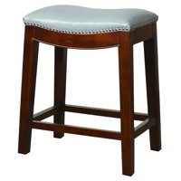 Elmo Saddle Counter Stool, Multiple Colors