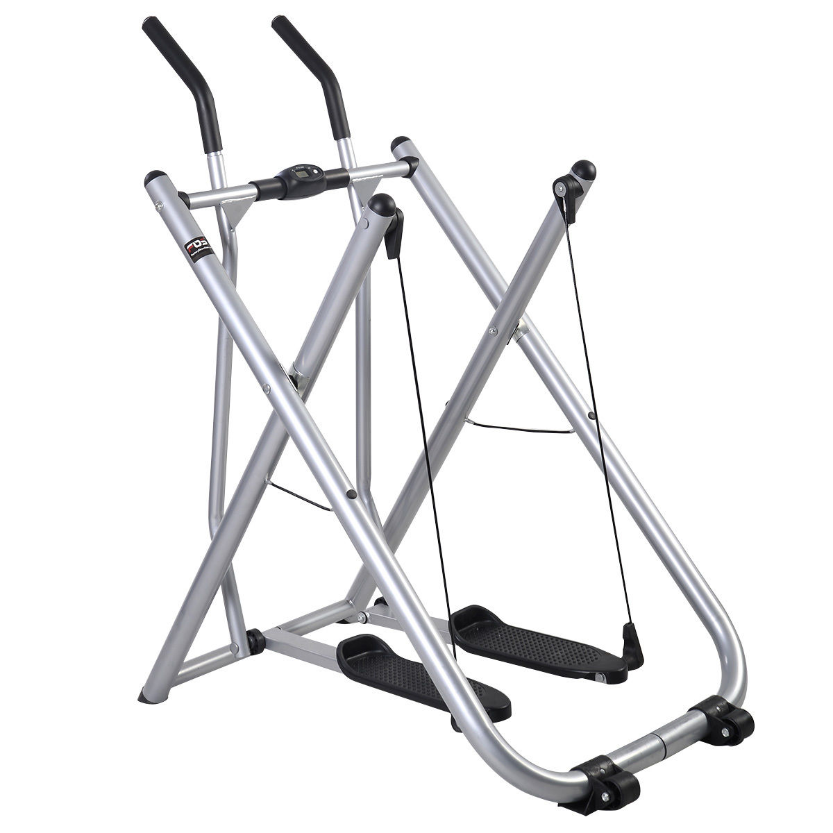 Costway Indoor Air Walker Glider Fitness Exercise Machine Workout Trainer Gym