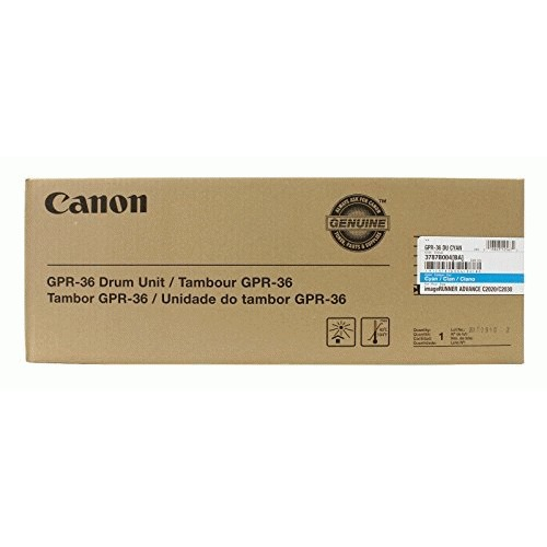 Canon GPR-36 Cyan Drum For Use In IMager Unner Advance C2020 C2030 C2225 C2231 3787B004BA by Canon
