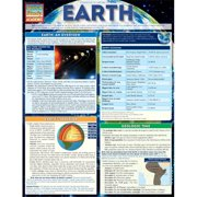 BarCharts 9781423219576 Earth Quickstudy Easel