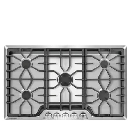 Frigidaire FGGC3645Q 36 Inch Wide Five Burner Gas Cooktop with Express-Select Controls from the Gallery