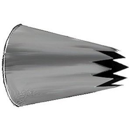 Ateco Stainless Steel Star Pastry Decorating Tips