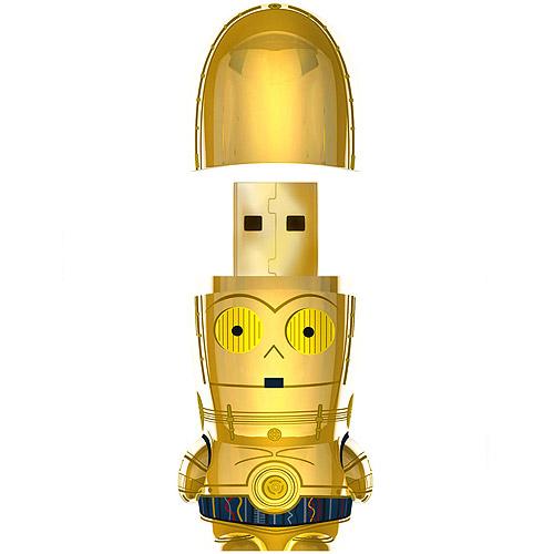 8GB C-3PO MIMOBOT USB Flash Drive
