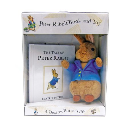 Peter Rabbit Book and Toy [With Plush Rabbit] (Rabbit Replica)