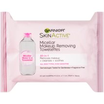 Facial Cleansing Wipes: Garnier SkinActive Micellar Makeup Remover Wipes