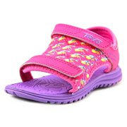 Teva T Psyclone 5 Youth  Open-Toe Canvas Pink Sport Sandal