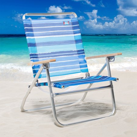 Pleasant Rio Aloha 3 Position Aluminum Beach Chair Beatyapartments Chair Design Images Beatyapartmentscom