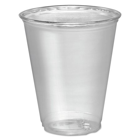***Discontinued***SOLO Cup Company Ultra Clear Cups, 7 oz, PET, 50/Bag, 1000/Carton