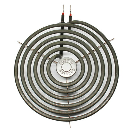 Compatible General Electric JMS08BA2WH 8 inch 6 Turns Surface Burner Element - Compatible General Electric WB30M2 Heating Element for Range, Stove & Cooktop (Stove Heating Element)