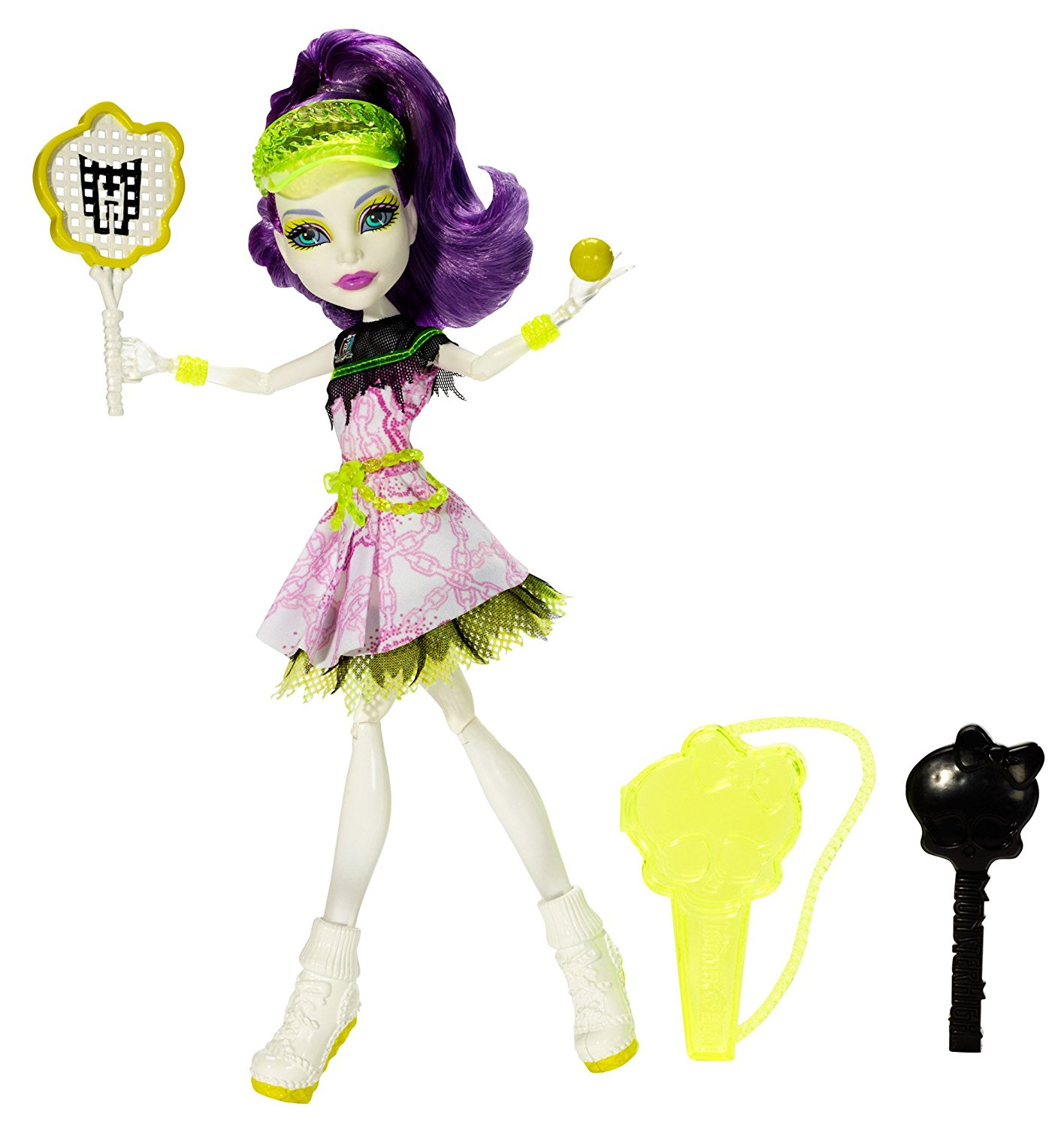 Ghoul Sports Spectra Vondergeist Doll, The ghouls love extrascaricular sport activities and are ready to bury the competition! By Monster High Ship from US