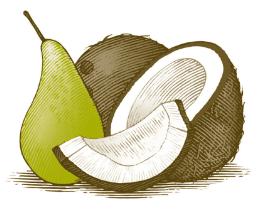 Coconut & Pear