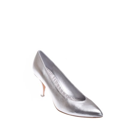 Dolce Vita Luella High Heel Pump - Silver Dolce Vita Leather Pumps