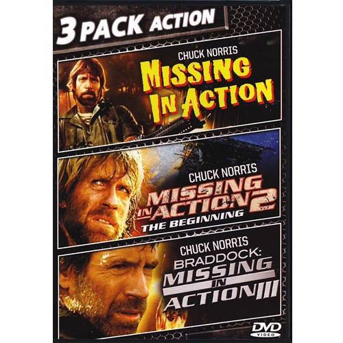 Triple Feature: Missing In Action / Missing In Action II: The Beginning / Braddock: Missing In Action III