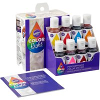 Wilton Color Right Performance Food Coloring Set, 8-piece