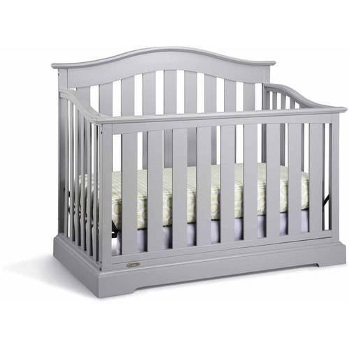 Graco Westbrook 4 in 1 Convertible Crib Gray