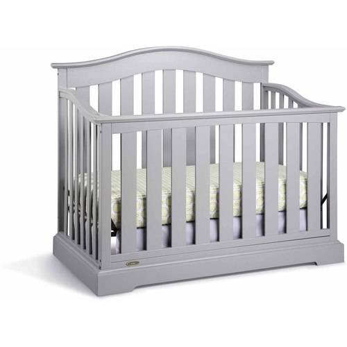 Graco Westbrook 4 in 1 Convertible Crib Gray