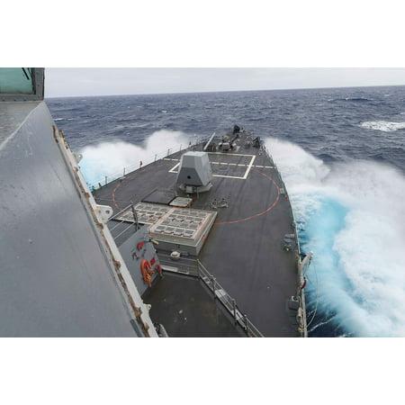 LAMINATED POSTER Ship United States Navy Naval Vessel Usn Destroyer Poster Print 24 x 36