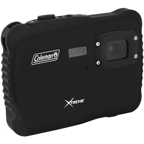 Coleman Black C6WP MiniXtreme HD Video Waterproof Digital Camera Kit