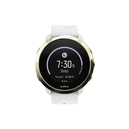 Suunto - 3 Fitness Heart Rate Monitor Watch - White /
