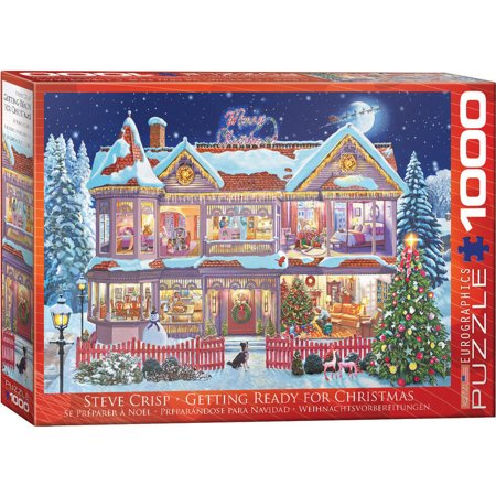 Getting Ready for Christmas 1000-Piece - Puzzles For Preschoolers