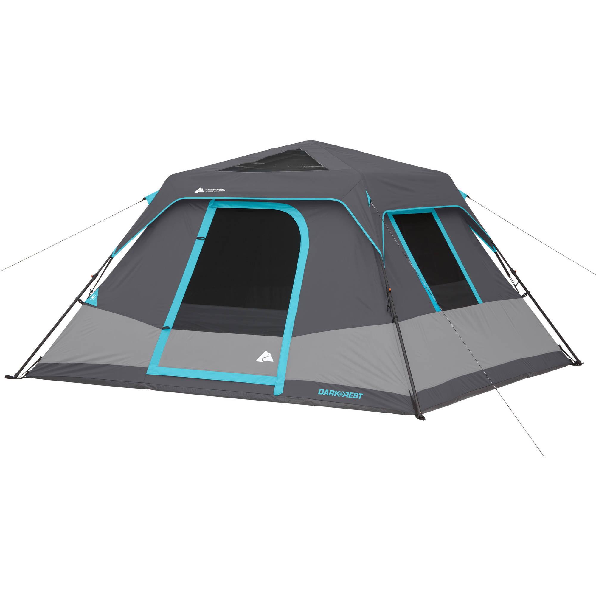 sc 1 st  Walmart & Ozark Trail 6-Person Dark Rest Instant Cabin Tent - Walmart.com