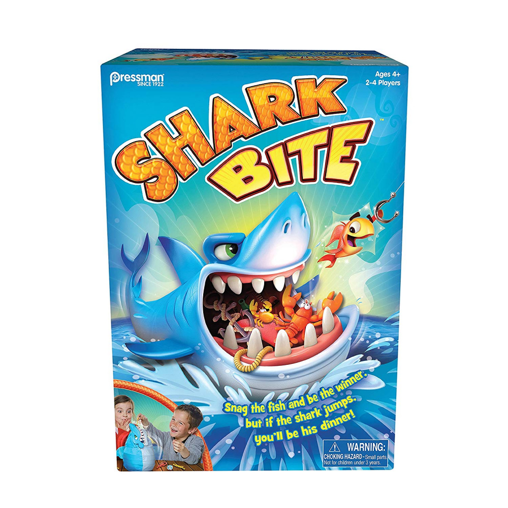 Pressman Toys Shark Bite Game (2-4 Players) by