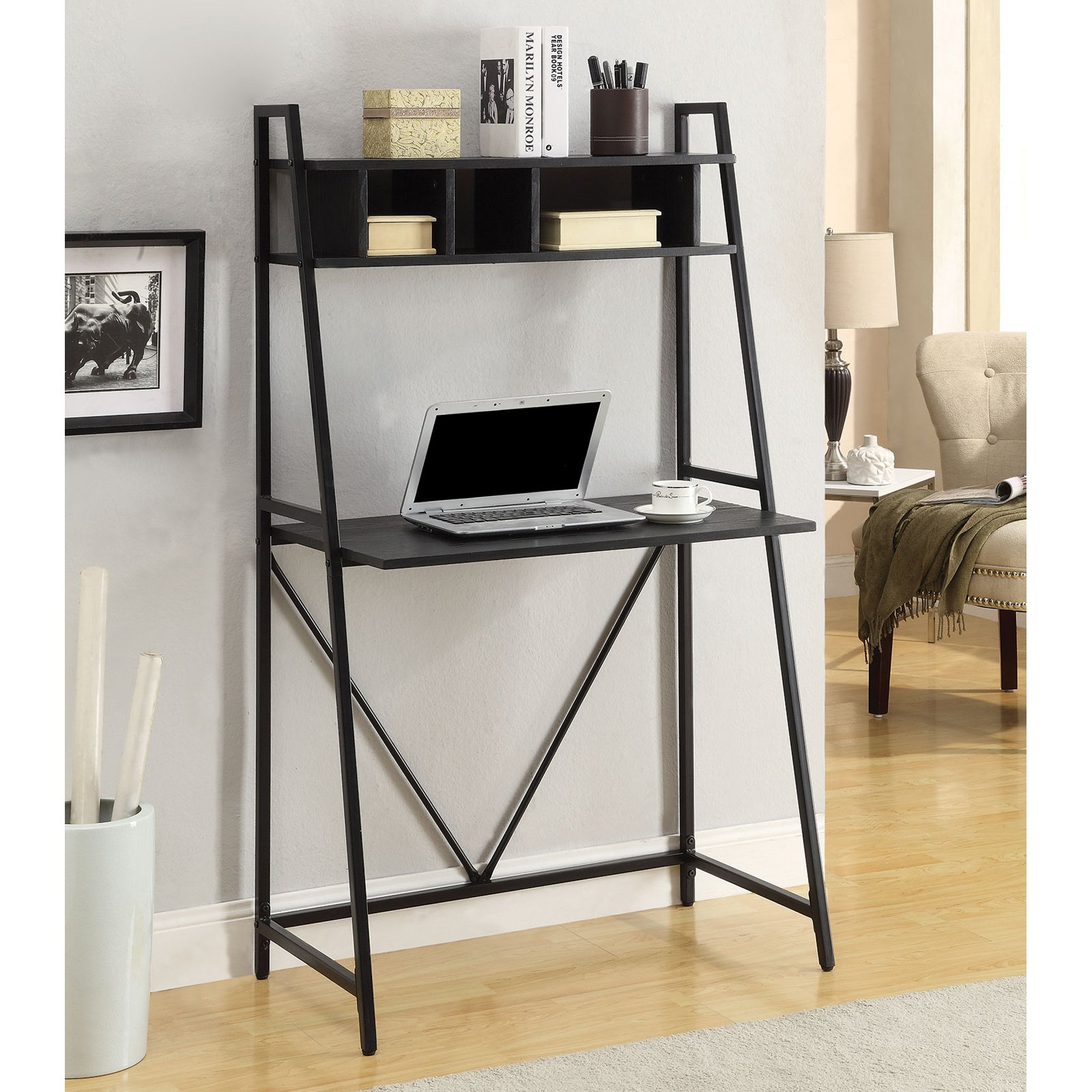 Coaster Top Shelf Writing Desk