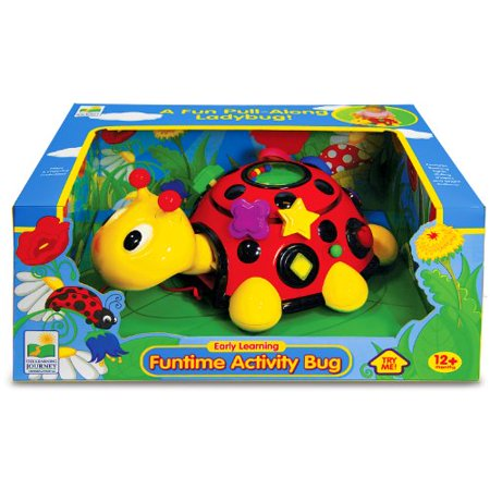 The Learning Journey Early Learning - Funtime Activity Ladybug - Baby & Toddler Toys & Gifts for Boys & Girls Ages 12 months and Up - Award-Winning Toy - image 3 of 4