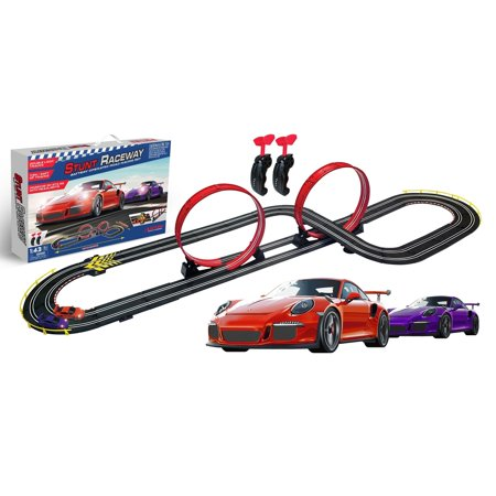 Digital Slot Car Racing (ARTIN STUNT RACEWAY Slot Car Racing Set )