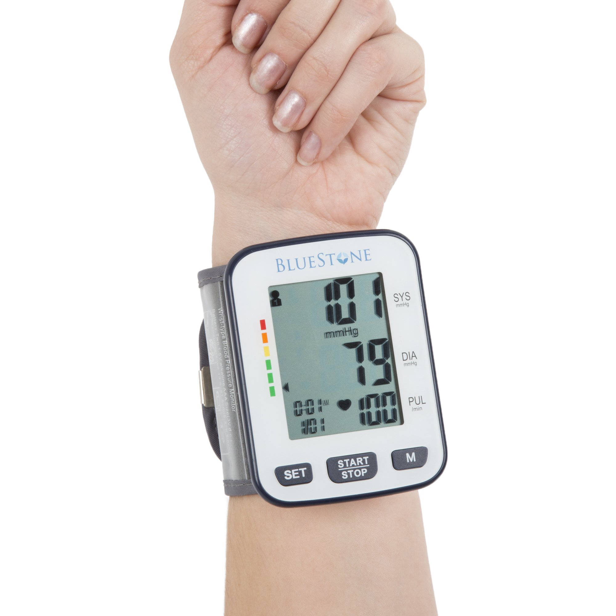 Bluestone Automatic Wrist Blood Pressure Monitor