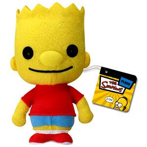 The Simpsons Funko 5 Inch Plushies Bart Simpson Plush - Bart Simpson As A Baby