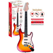 Spectrum AIL 78CFM Full Size Electric Guitar, Flamed Maple with Cherry Burst Finish