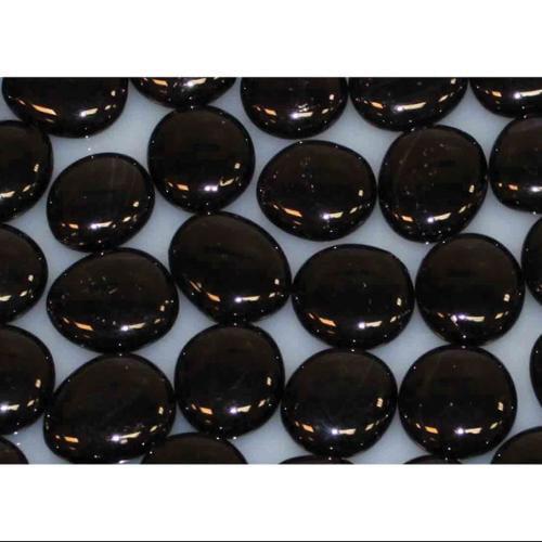 "Decorative 1"" Glass Drops - Onyx Solid"