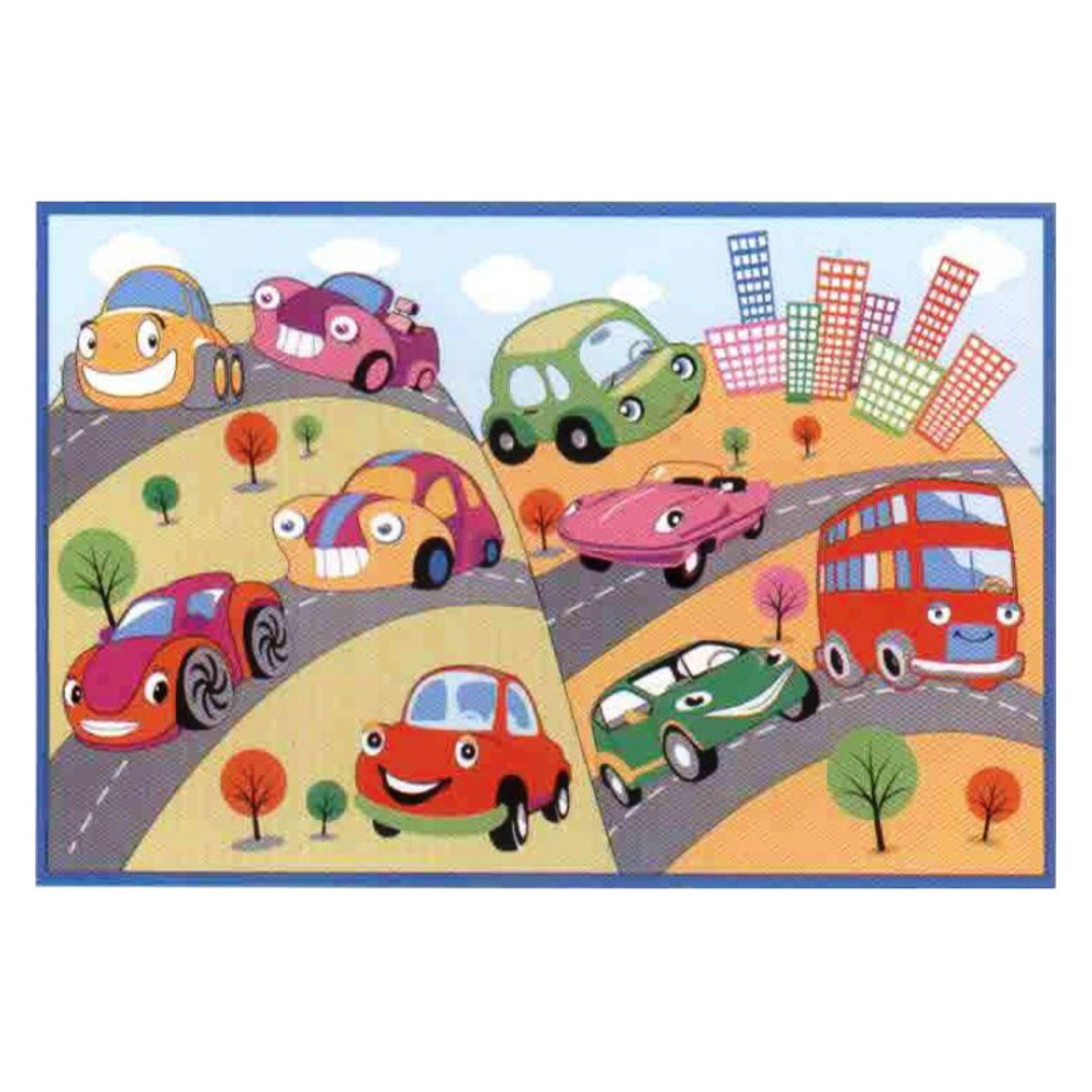 "Fun Rugs Fun Cars 19"" x 29"" Rug"