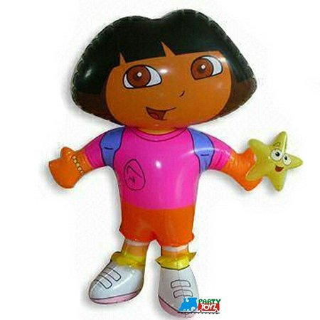 Dora The Explorer Birthday Decorations (dora the explorer inflatables balloon doll party)