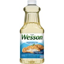 Cooking Oils: Wesson Pure Vegetable Oil