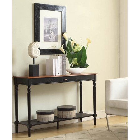 Convenience Concepts French Country Console Table Multiple Finishes - Convenience concepts french country coffee table