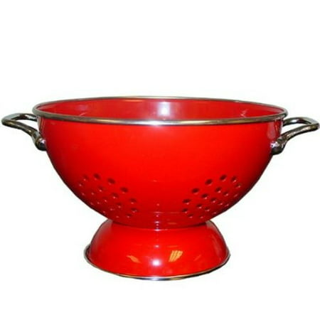 Powder Coated Colander - Reston Lloyd Red - 5 Qt Colander- Powder Coated