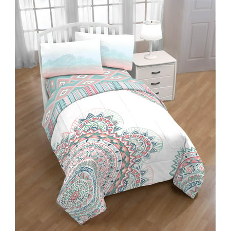 Limited Too 'Medallion' Twin Comforter and Sheet Set ()