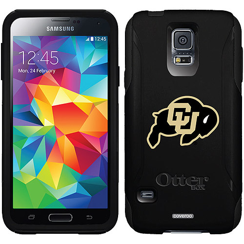 University of Colorado CU Buffalo Design on OtterBox Commuter Series Case for Samsung Galaxy S5
