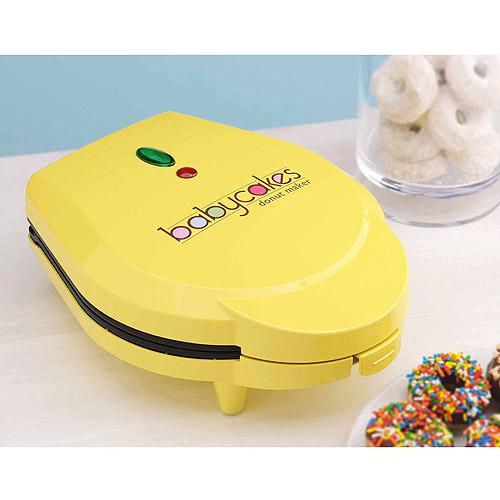 Baby Cakes Donut Maker, Yellow