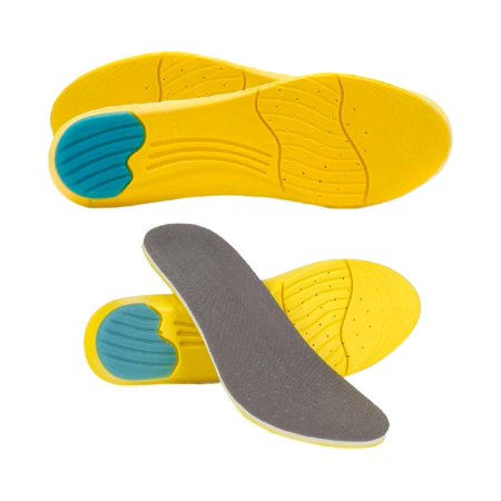 Memory Foam Breathable Unisex Dual Layer Foot Insoles