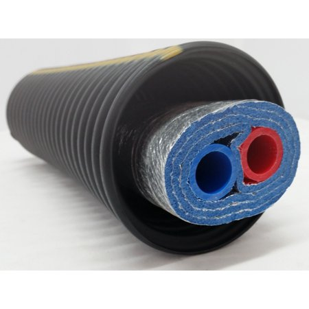 80 Feet of Commercial Grade EZ Lay Triple Wrap Insulated 1 1 4 NB Pex